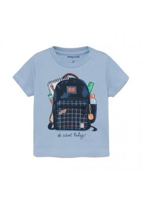 "Camiseta manga corta ""play"" mochila Mayoral para bebe niño modelo 1011"