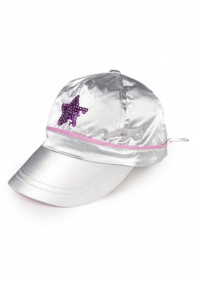 gorra con lentejuelas Losan para niña modelo 116-A003AL