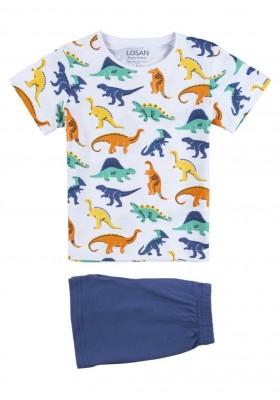 pijama de manga corta de punto liso Losan para niño modelo 115-P002AL