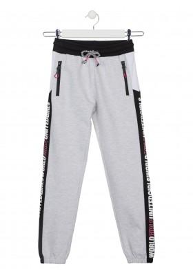 pantalon de felpa no perchada Losan para niña modelo 114-6026AL