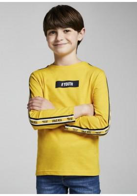 Camiseta manga larga cintas de Mayoral para niño modelo 7014