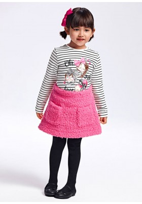 Conjunto falda rizo de Mayoral para niña modelo 4942