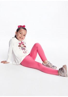 Conjunto leggings 2 pantalones de Mayoral para niña modelo 4746