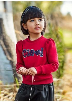 Pullover letra lentejuela de Mayoral para niña modelo 4429
