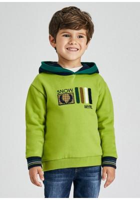 Pullover capucha contrastes de Mayoral para niño modelo 4403