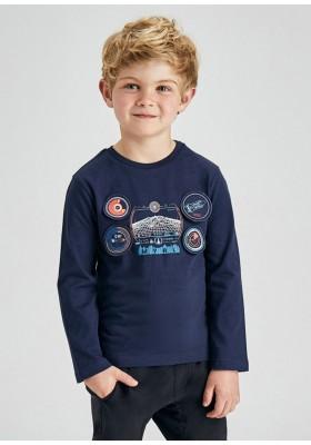 "Camiseta manga larga ""play with"" de Mayoral para niño modelo 4090"