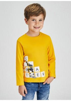 """Camiseta manga larga """"skater"""" de Mayoral para niño modelo 4073"""