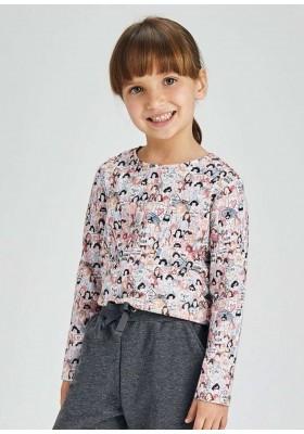 Set 2 camisetas manga larga de Mayoral para niña modelo 4010