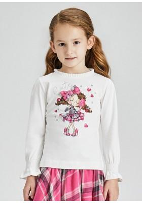 Camiseta manga larga muñeca de Mayoral para niña modelo 4006