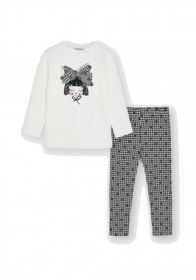Conjunto leggings de Mayoral para niña modelo 4750