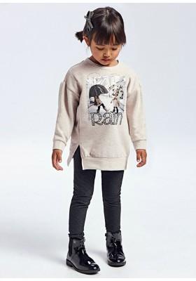 Conjunto leggings estampado de Mayoral para niña modelo 4752