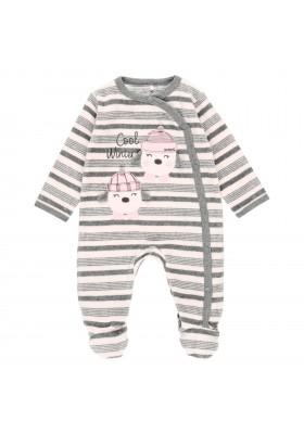 Pelele terciopelo listado de bebé Boboli modelo 103059