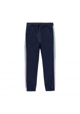Pantalón punto con bandas de niña Boboli modelo 403018