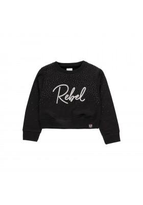 """Sudadera felpa """"Rebel Girl"""" de niña Boboli modelo 433178"""