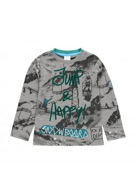 """Camiseta punto """"snow"""" de niño Boboli modelo 513043"""