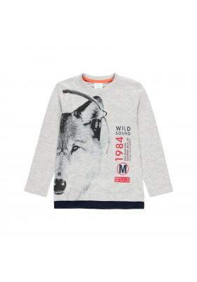 """Camiseta punto """"bbl music"""" de niño Boboli modelo 503008"""