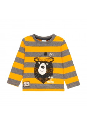 Camiseta punto listada de bebé niño Boboli modelo 323019