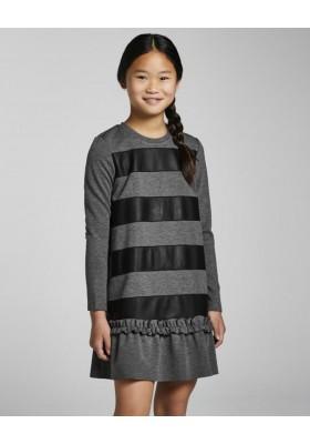 Vestido punto roma de Mayoral para niña modelo 7916
