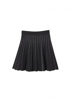 Falda tricot lurex de Mayoral para niña modelo 7905