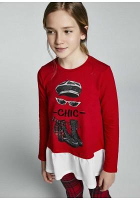 Conjunto leggings cuadros de Mayoral para niña modelo 7730