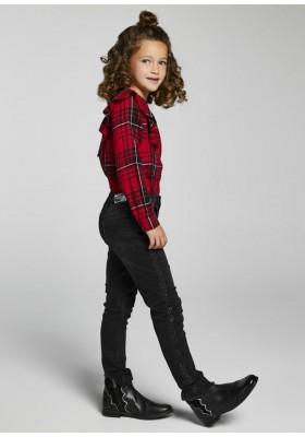 Pantalon tejano tiro altode Mayoral para niña modelo 7557