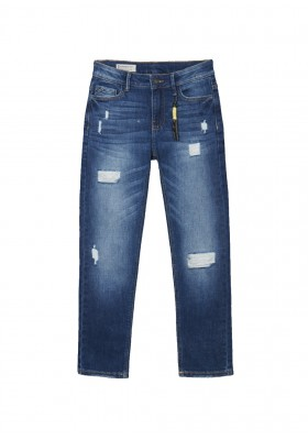 Pantalon denim rotos de Mayoral para niño modelo 7554