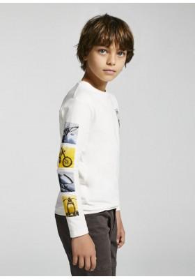 """Camiseta manga larga """"motor"""" de Mayoral para niño modelo 7016"""