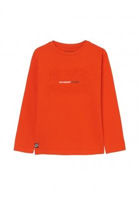 Camiseta manga larga embossed de Mayoral para niño modelo 7012