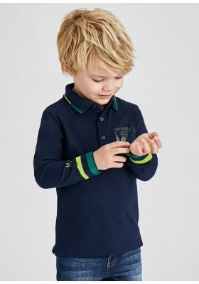 Polo manga larga print de Mayoral para niño modelo 4159