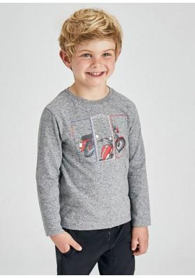 "Camiseta manga larga ""positive"" de Mayoral para niño modelo 4088"
