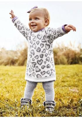 Vestido tricot de Mayoral para bebe niña modelo 2924