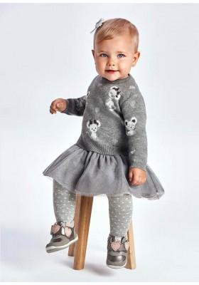 Vestido tricot tul de Mayoral para bebe niña modelo 2923