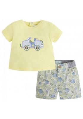 conjunto camiseta y pantalón corto MAYORAL -1226