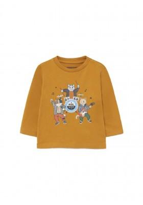 "Camiseta manga larga ""myrl band"" de Mayoral para bebe niño modelo 2073"