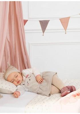 Leotardo liso de Mayoral para bebe niña modelo 9418