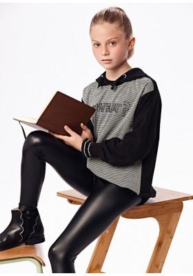 Conjunto leggings pata gallo de Mayoral para niña modelo 7729