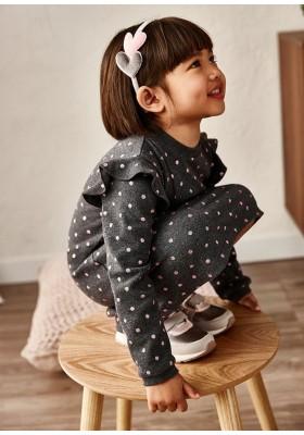 Vestido topos glitter de Mayoral para niña modelo 4938