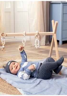Conjunto polaina y gorro de Mayoral para bebe niño modelo 2513