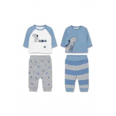 Conjunto punto 4 piezas de Mayoral para bebe niño modelo 2690