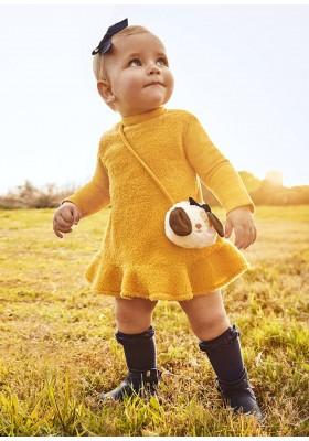 Vestido borrego bolso 2 pieza de Mayoral para bebe niña modelo 2921