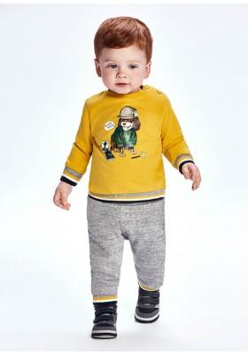 Chandal 2p pulloverde Mayoral para bebe niño modelo 2827