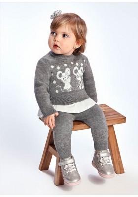 Conjunto leggings tricotosa de Mayoral para bebe niña modelo 2720