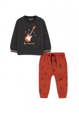 """Conjunto punto homewear """"guitar""""de Mayoral para bebe niño modelo 2610"""