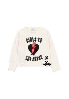 """Camiseta punto elástico """"rock"""" de niña Boboli modelo 433189"""