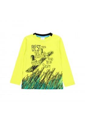 """Camiseta punto """"snow"""" de niño Boboli modelo 513144"""