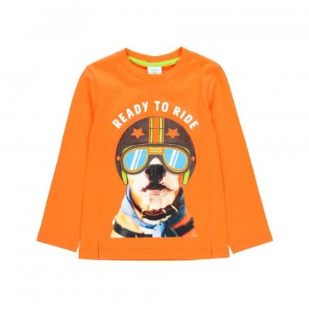 """Camiseta punto """"perrito"""" de niño Boboli modelo 523077"""