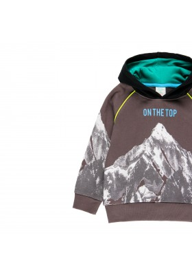 "Sudadera felpa ""mountain"" de niño Boboli modelo 513100"