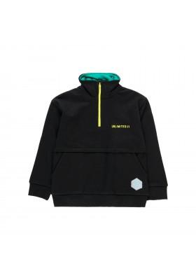 Sudadera felpa con bolsillo de niño Boboli modelo 513087