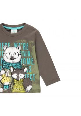 """Camiseta punto """"animales"""" de bebé niño Boboli modelo 333010"""