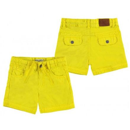 Pantalón corto MAYORAL amarillo 1256